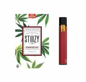 stiiizy battery starter kit red