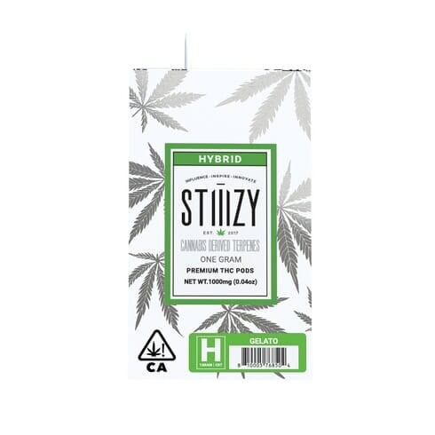 Buy Stiiizy Pod Gelato - Cannabis Derived Terpenes Online | GELATO - CANNABIS DERIVED TERPENES POD 0.5 G | BUY STIIIZY PODS ONLINE
